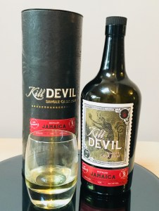 KIll Devil Jamaica Hampden Estate Single Cask Rum Review by the fat rum pirate