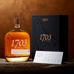 Mount Gay 1703 Master Select Rum Review by the fat rum pirate 2017 release