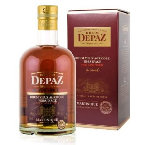 Rhum Depaz Rhum Vieux Agricole Hors D'Age Port Cask Finish Review by the fat rum pirate