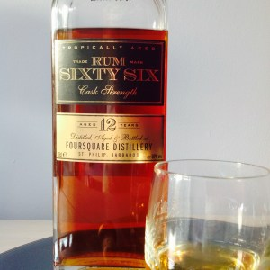 Rum Sixty Six 12 Cask Strength rum review by the fat rum pirate