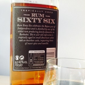 Rum Sixty Six Extra Old 6 Year Old Rum Review by the fat rum pirate