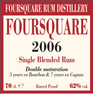 Velier Foursquare 2006 Rum Review by the fat rum pirate