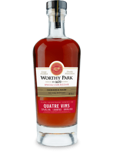 Worthy Park Special Cask Release Quatre Vins Rum Review by the fat rum pirate