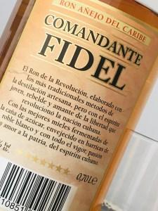 Comandante Fidel Ron Anejo del Caribe rum review by the fat rum pirate