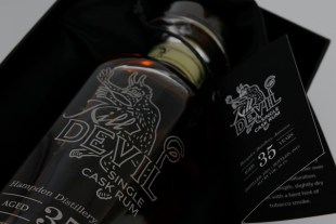 Kill Devil Hampden Distillery Jamaica Aged 35 Years Rum review by the fat rum pirate