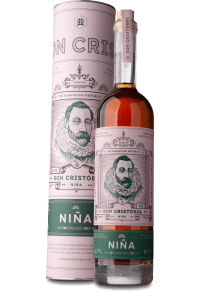 Ron Cristobal Nina 8-12 Y.O Rum review by the fat rum pirate