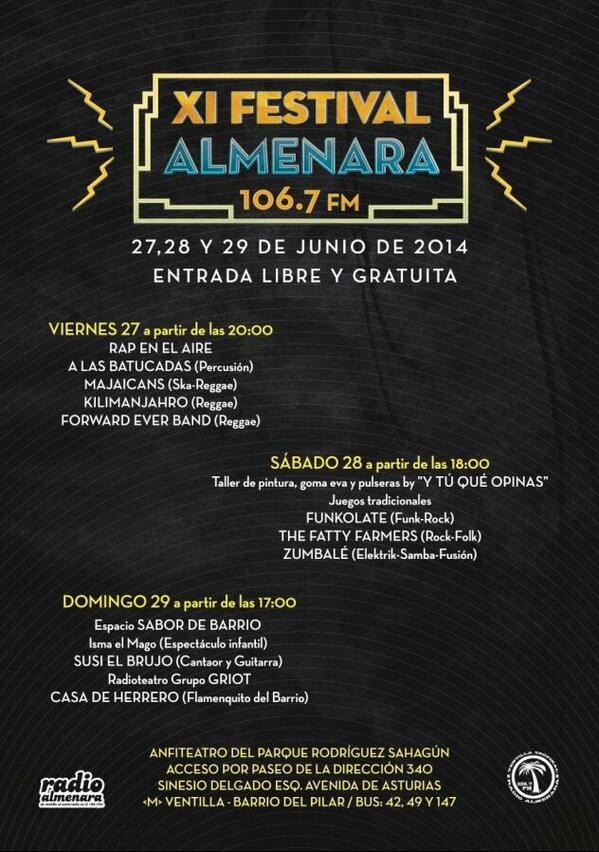 The Fatty Farmers en el Festival Almenara
