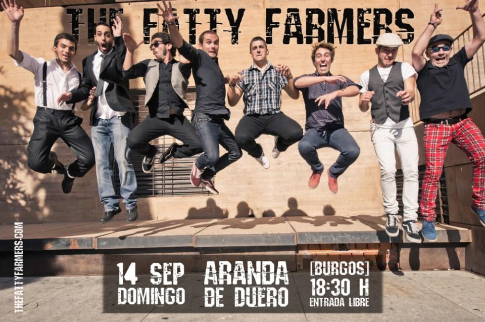 thefattyfarmers en Concierto: Aranda de Duero Burgos