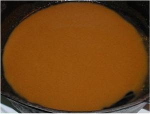 Créole dark brown roux