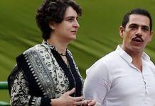 Priyanka Gandhi Vadra and Robert Vadra Supporting Criminal Husband Becomes New Couple's Goal