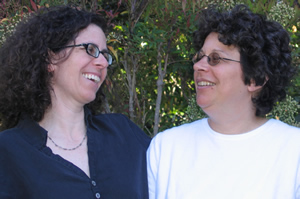 Miki (right) and her sister Inbal