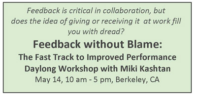 feedback workshop