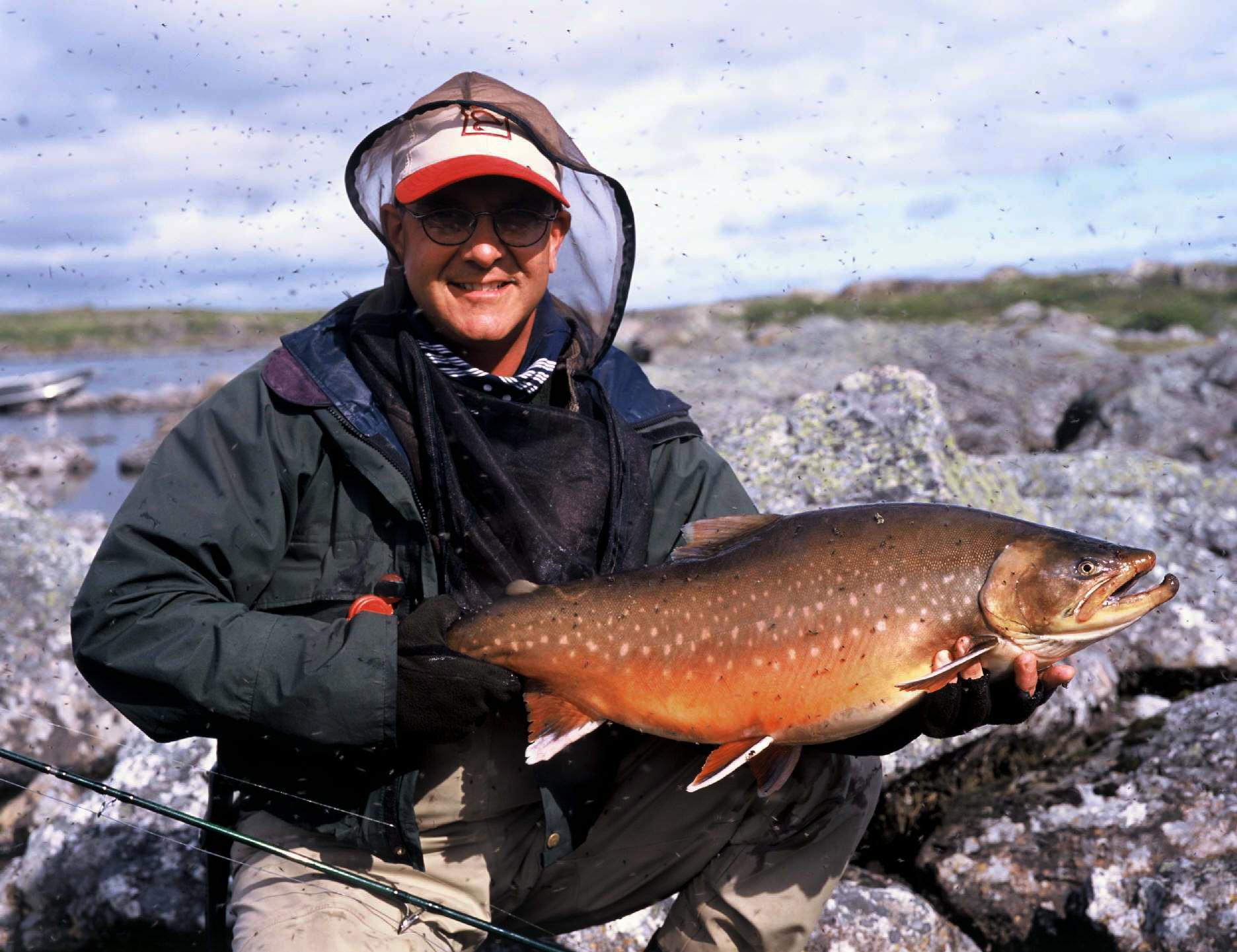Small flies big fish  Fly fishing for the worlds largest Arctic Char