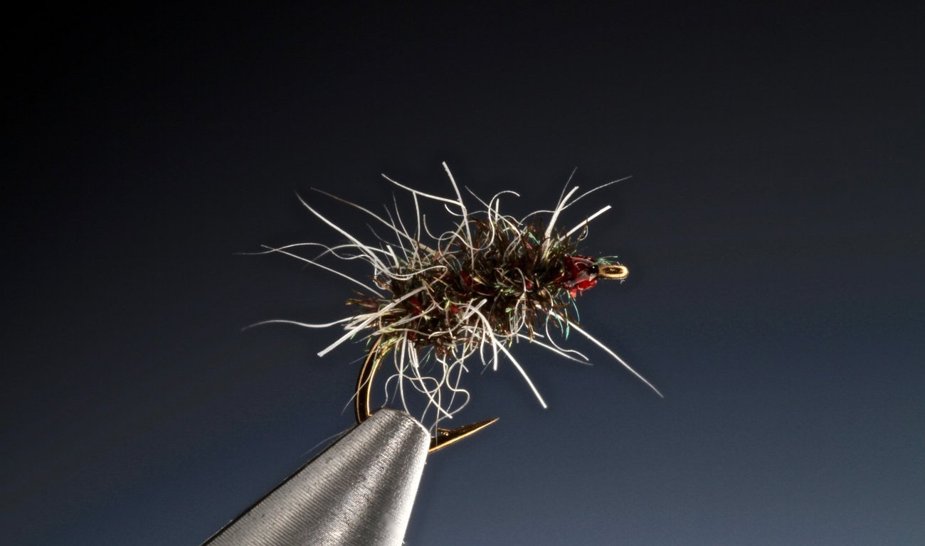 fly tying Matt's Gnat a Griffith's dry fly