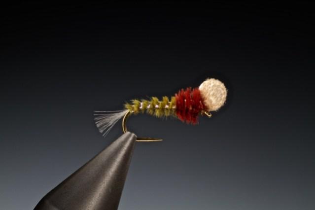 fly tying Goddard's suspender hatching midge