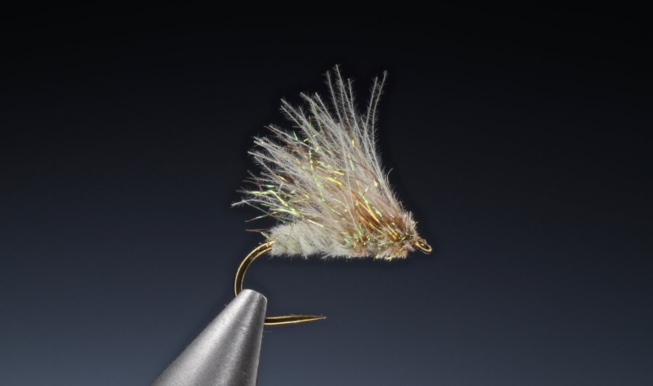 Fly tying CDC Sparkle wing caddis