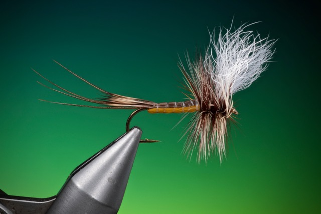 fly tying Troutsman Hex dry fly