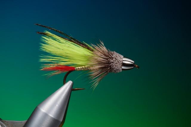 Marabou Muddler streamer tied by Barry Ord Clarke