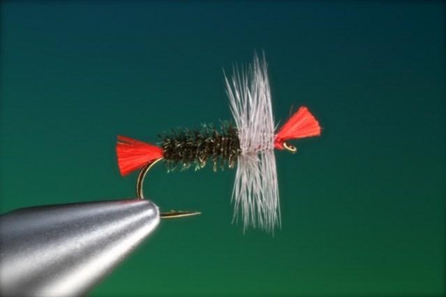 fly tying tutorial Bradshaw's Fancy dry fly