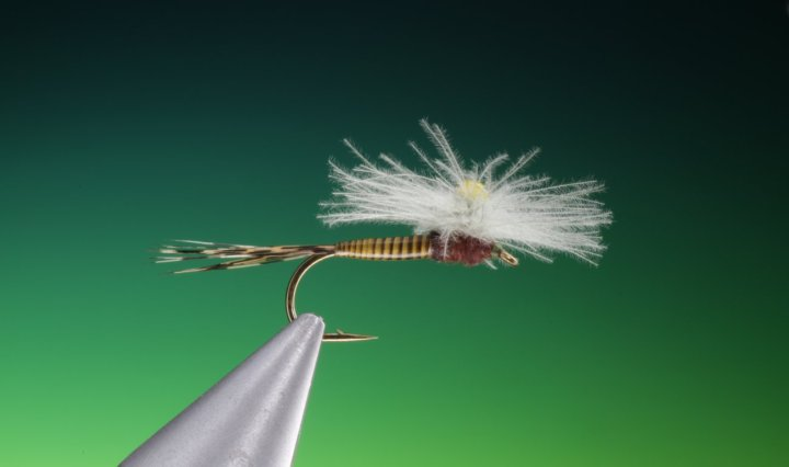 CDC Para weld pattern tied by Barry Ord Clarke