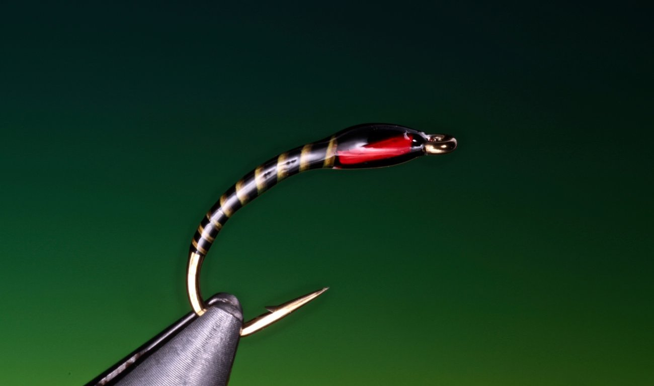 fly tying Yellow quill buzzer