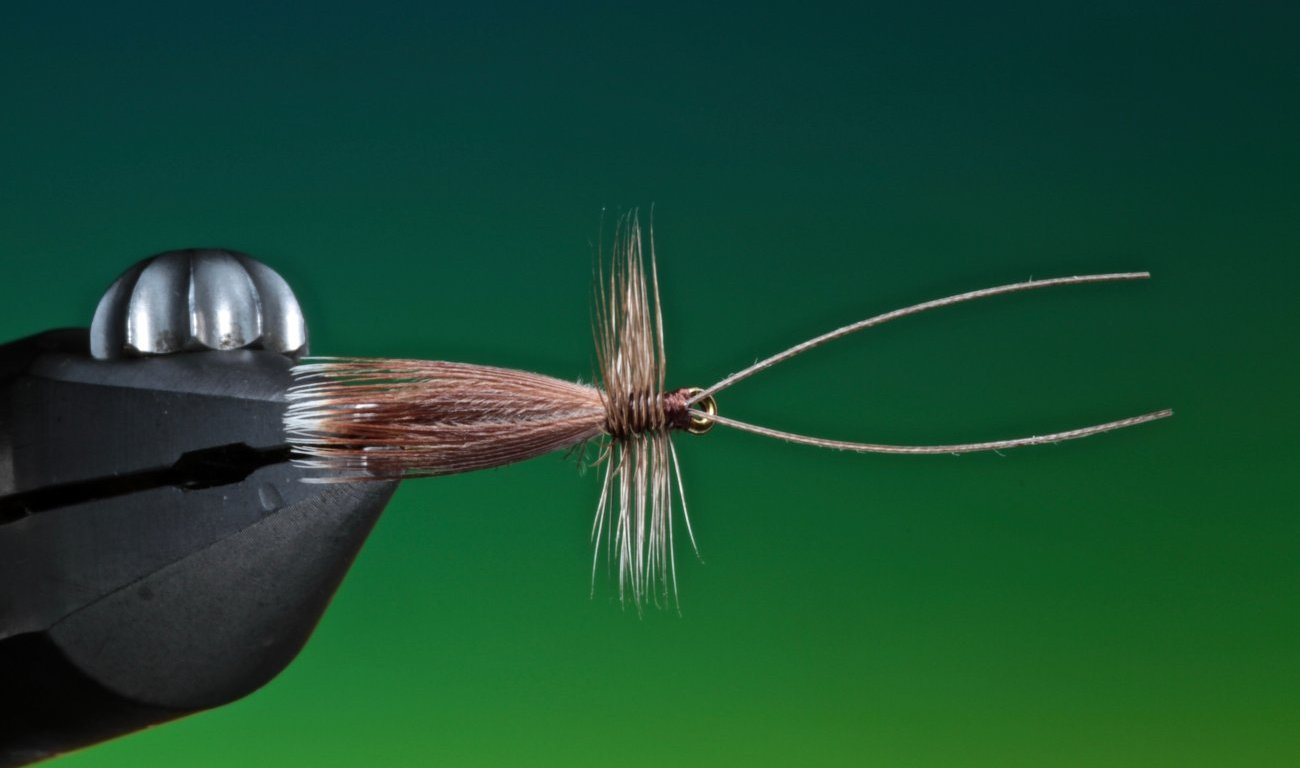 fly tying The Welshman's Button