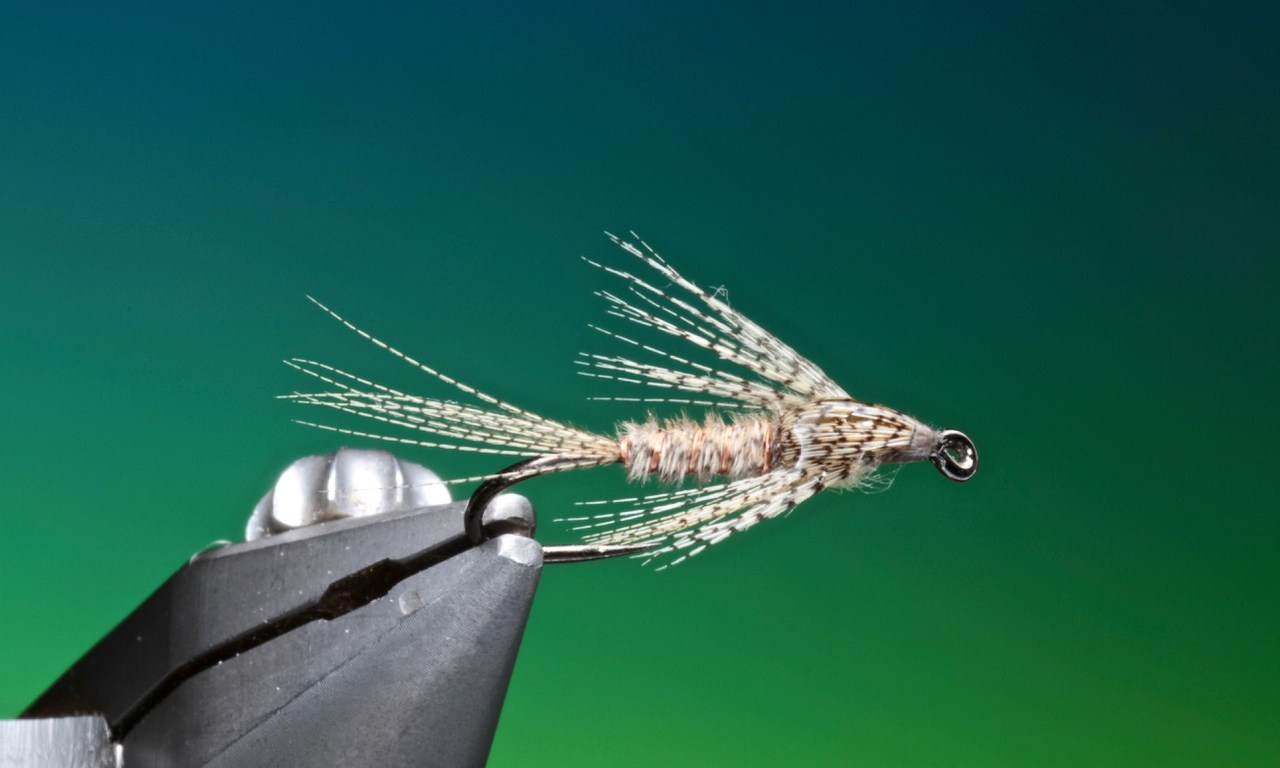 fly tying Wood Duck nymph