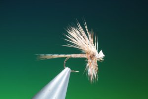 fly tying hair wing Adams dry fly