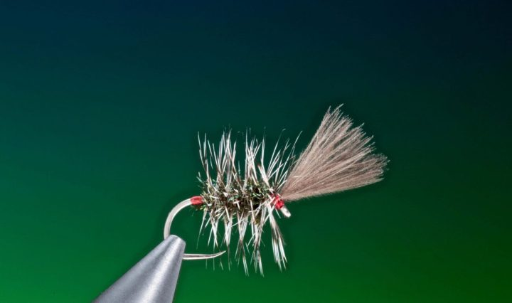 fly tying Heinz – 57 grayling dry fly