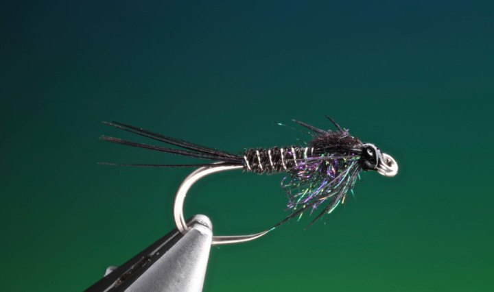 pheasant tail black tied by Barry Ord Clarke