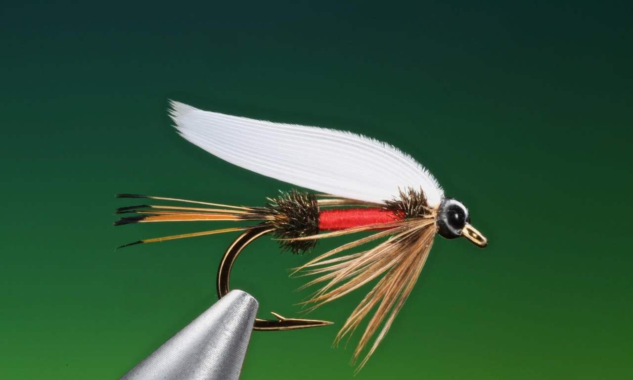 Royal Coachman wet fly pattern tied by Barry Ord Clarke
