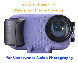 AxisGO Waterproof Case for iPhone 12 great fly fishing accessories