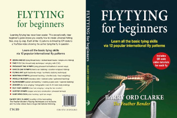 Flytying for Beginnners book cover by Barry Ord Clarke