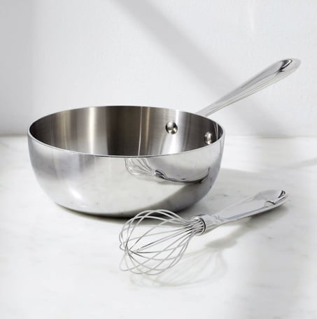 All Clad Saucier in 2 quart as described in gift guide