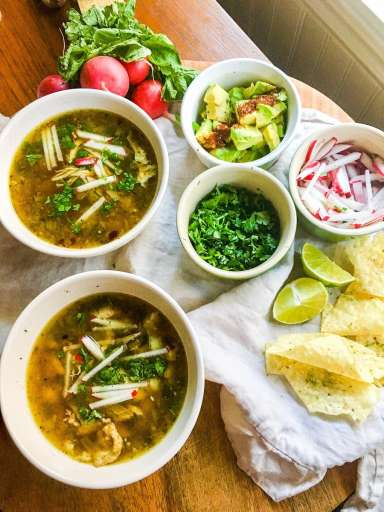 My Chicken Posole Soup recipe is the best and easiest to make