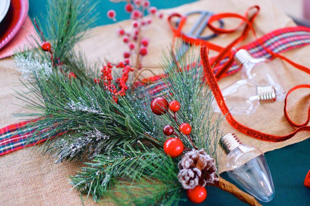 DIY Festive & Modern Christmas Ornament - TheFebruaryFox.com