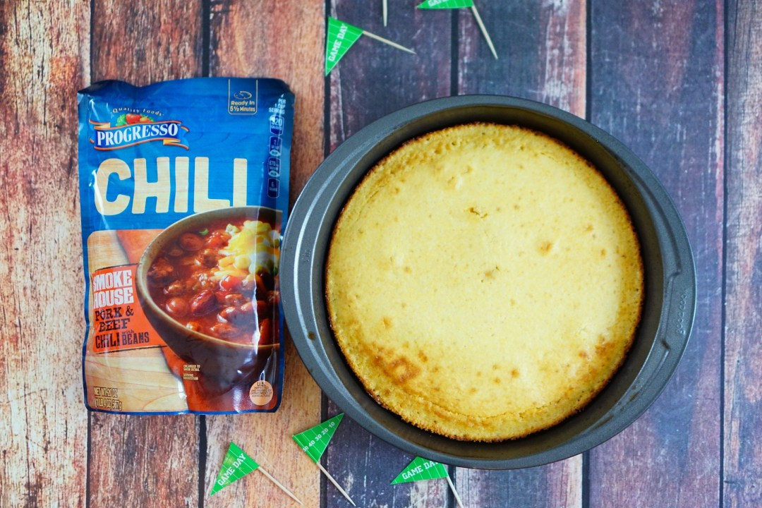 Game Day Cornbread Chili