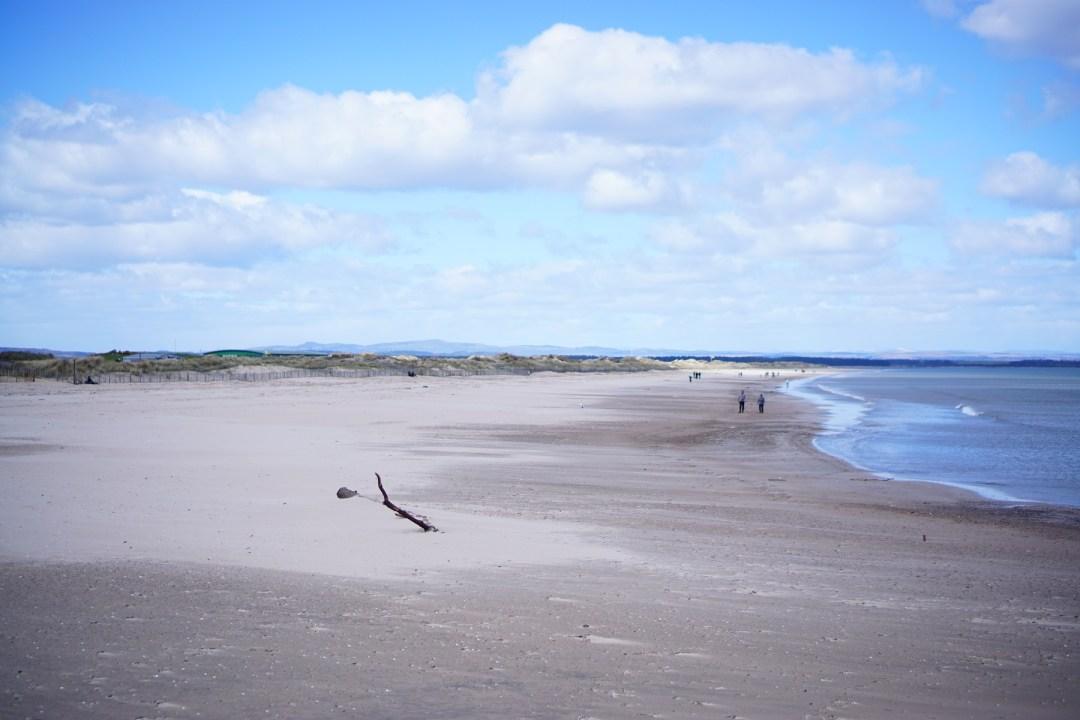 West Sands, St Andrews, FIfe, Scotland, UK