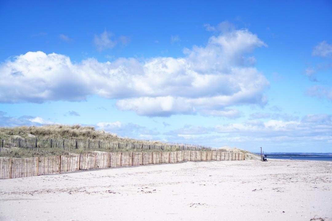 West Sands, St. Andrews, Fife, Scotland, UK