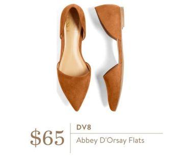 Stitch Fix DV8 Abbey D'Orsay Flats