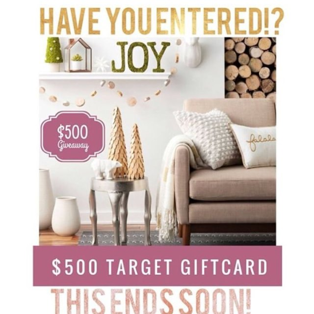 Hello Target lover! Want 500 this holiday season? See myhellip
