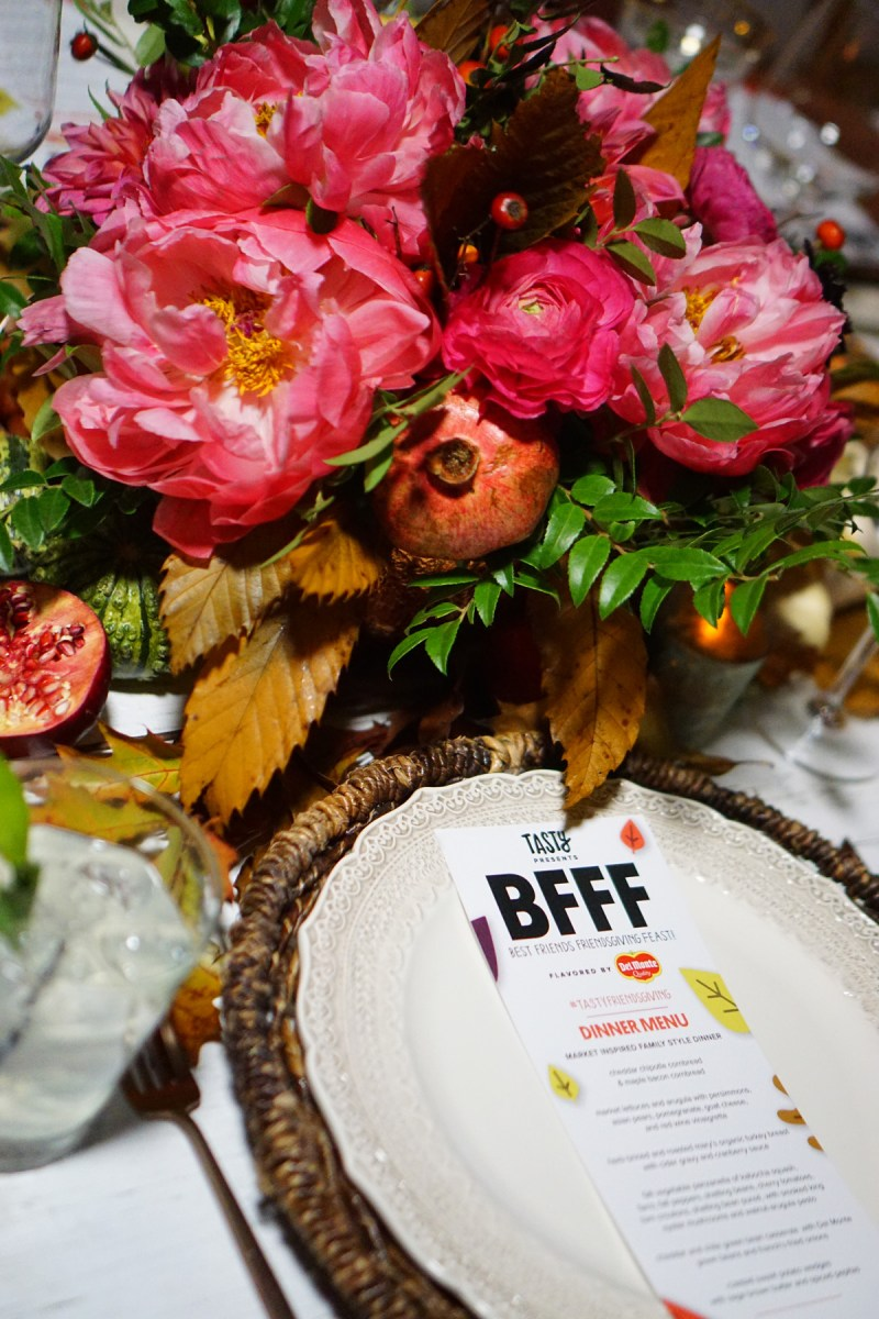 Best Friends Friendsgiving Event with Tasty, Del Monte, and Tiffani Thiessen!