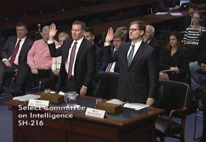Image result for IG Atkinson confirmation hearing