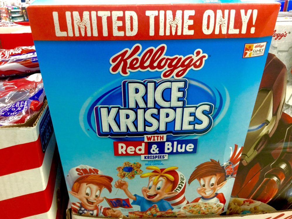 Black Lives Matter Activist: Your Kellogg's Box Is Racist