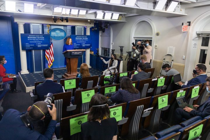 White House Press Corps Doesn't Ask Psaki Any Questions About Fauci's Emails