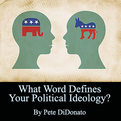 What Word Defines Your Political Ideology