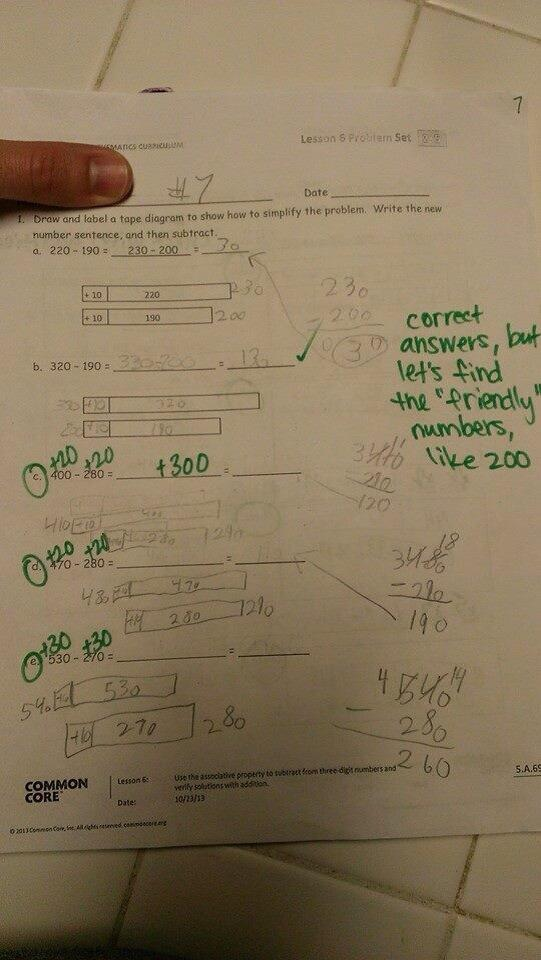 The Top Ten Most Ridiculous Common Core Problems So Far