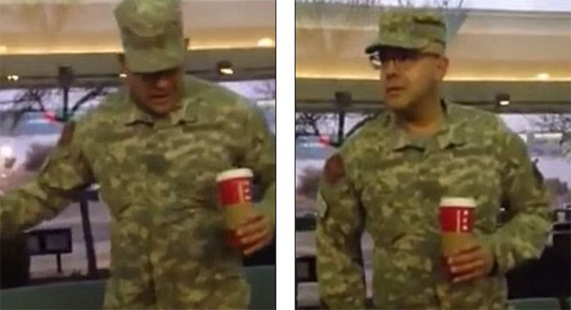 Fake Army Ranger Gets Busted Getting Starbucks Discount