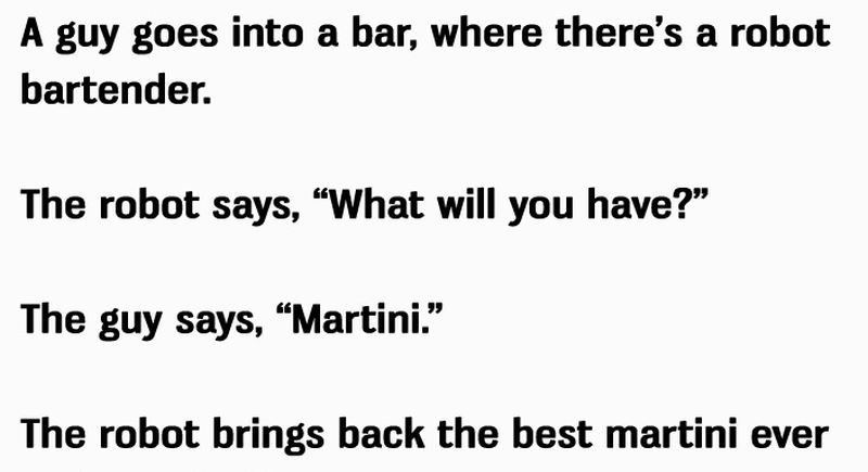 This is The BEST Political Bar Joke of ALL TIME