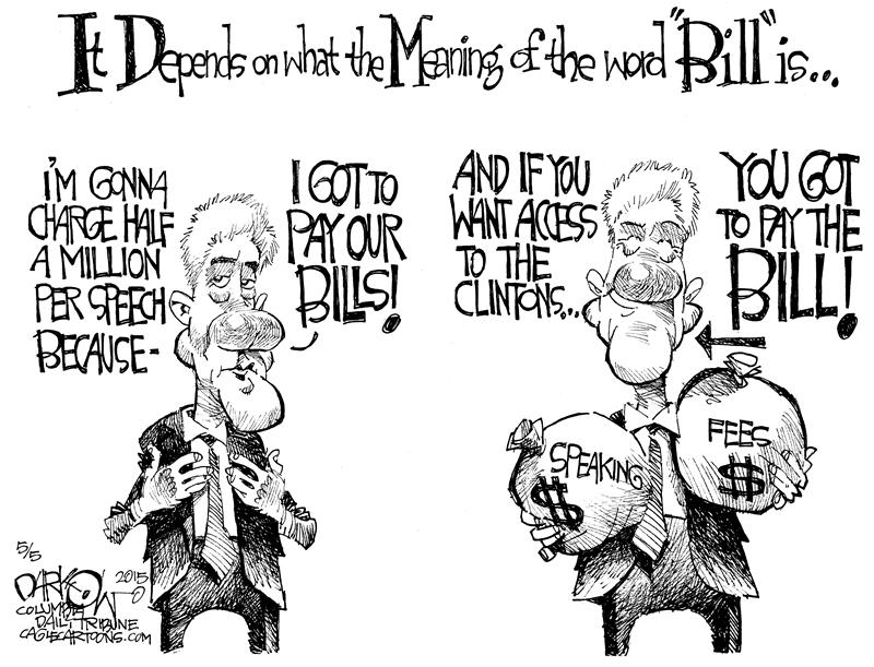 Cartoonists Slam Clinton Corruption; Here's Some Of The Best
